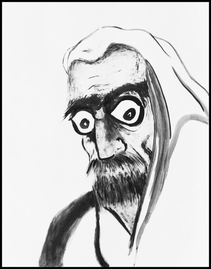 Retrato Daruma copia